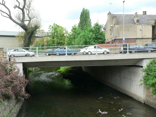 Savins Mill Way Bridge over the Goit, Kirkstall