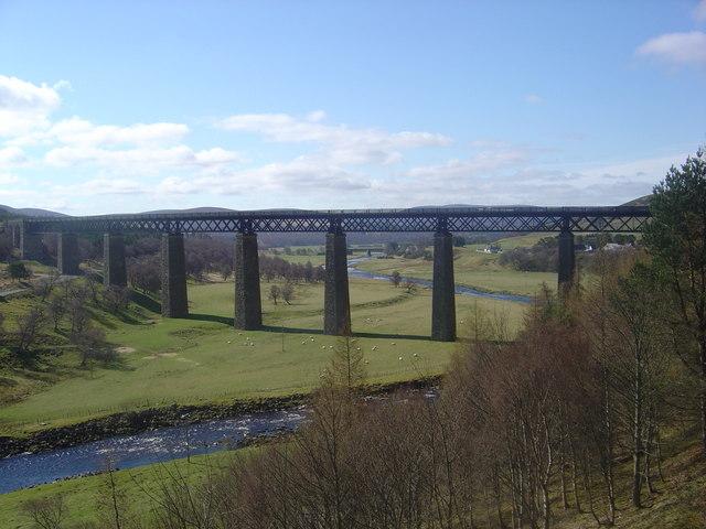Viaduct  ( River Findhorn)