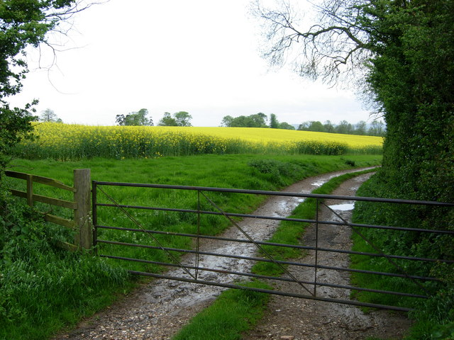 Farmland near West Haddon