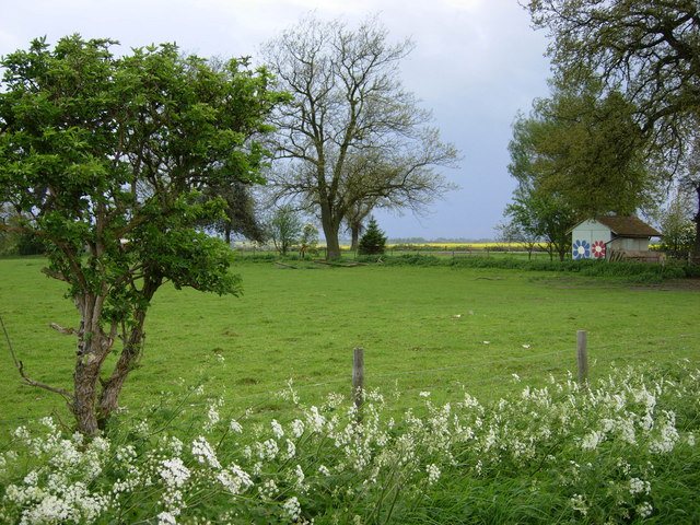 Farmland near West Haddon