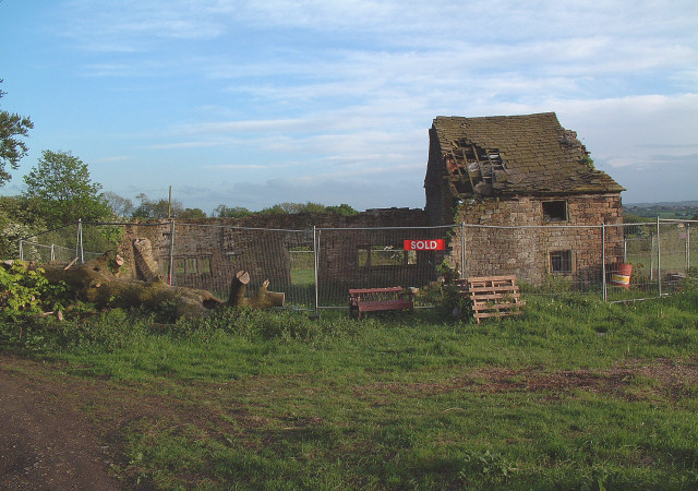 Abandoned Farmhouse at Promised Land