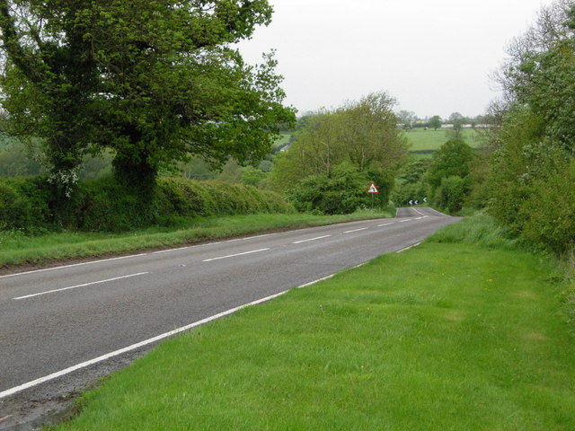 A428 south east of West Haddon
