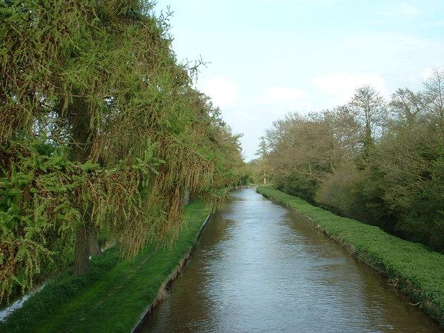 Llangollen Canal at Marbury