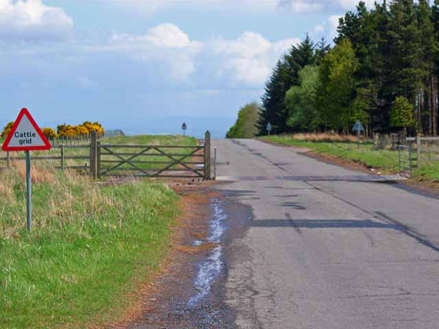 Military road on Waitwith Moor