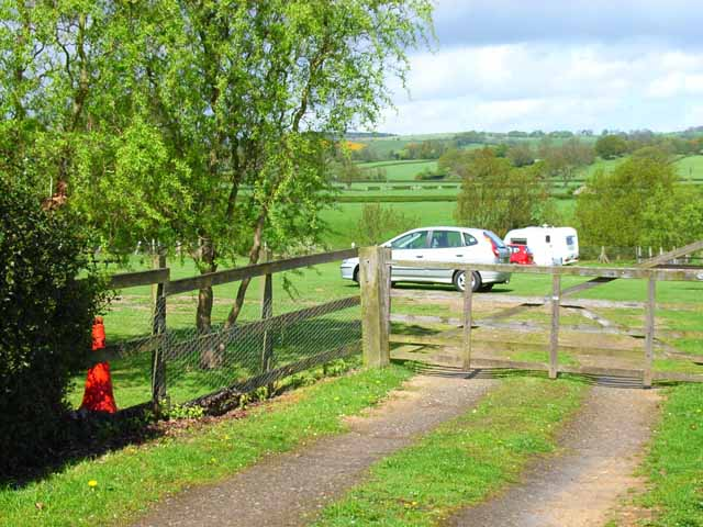 Caravan site at Brokes Farm