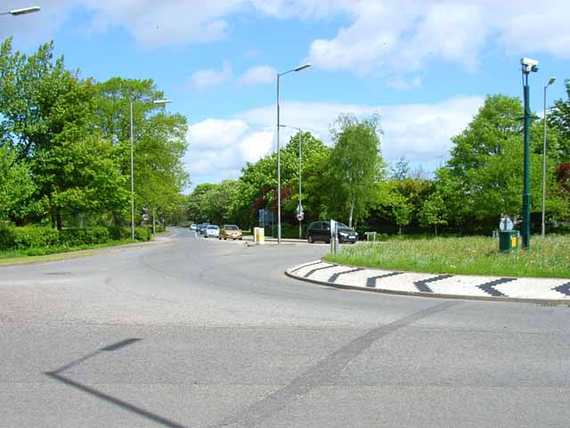 Hipswell Road roundabout, Catterick Garrison