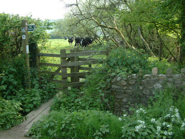 Kissing Gate and Public Footpath