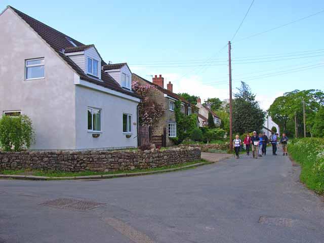 Coast to Coast walk, old Colburn village