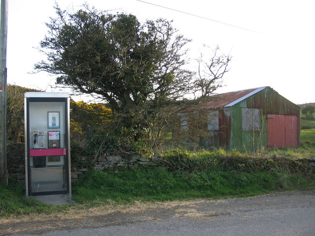 Isolated phone box