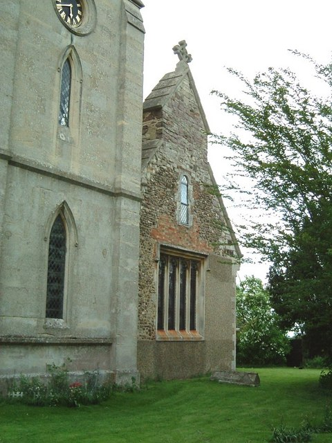 St. Peter's church, Milton Bryan - Western end