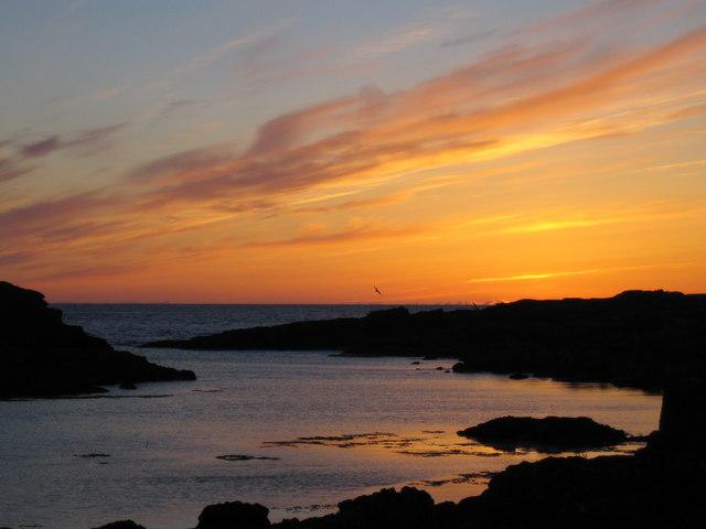 Sunset from Bay MacNeill