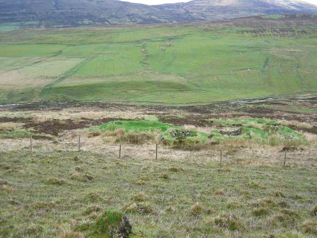Ancient Ruins in Glen Haultin