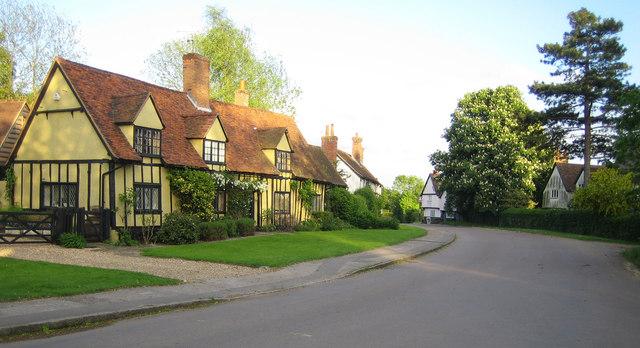 Benington: Town Lane