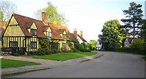 TL2923 : Benington: Town Lane by Nigel Cox