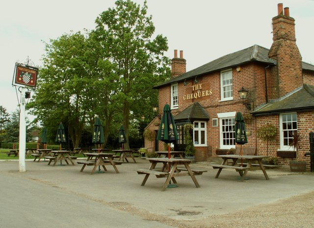 'The Chequers' public house, Matching Green, Essex