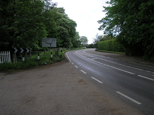 Winding Road to Leverington
