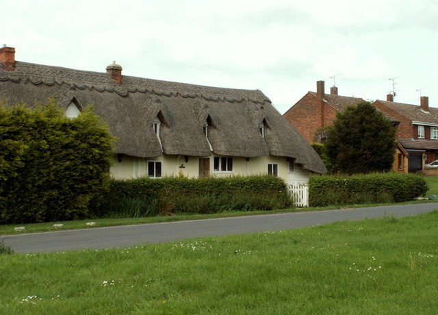 Thatched cottages, Hatfield Broad Oak, Essex