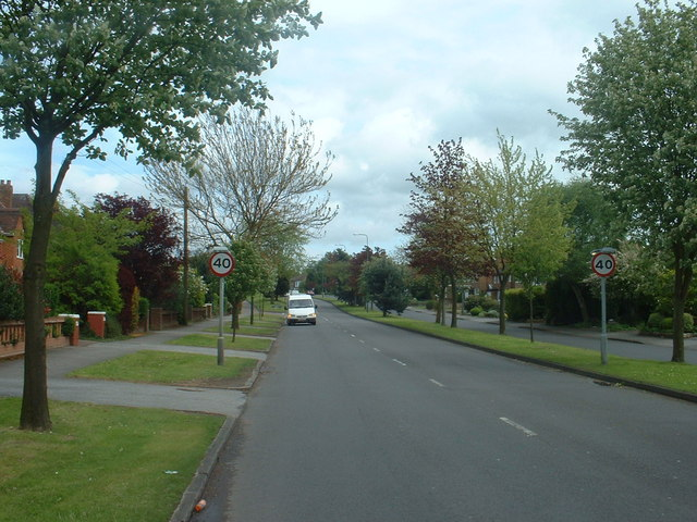 The A41 in Solihull