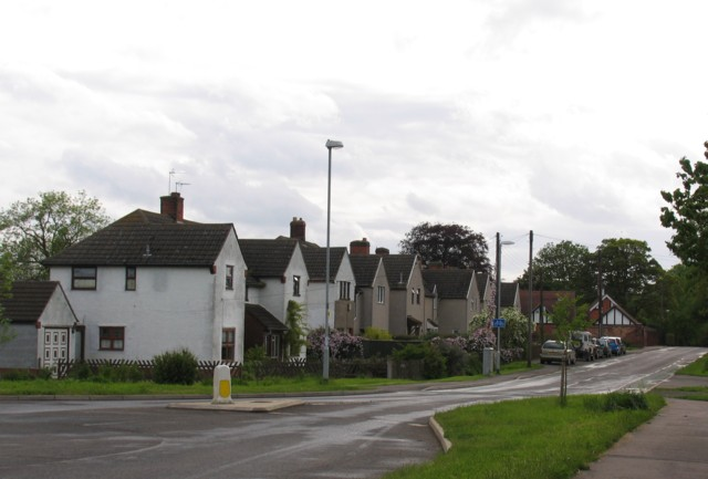 Houses on Lyndon Road