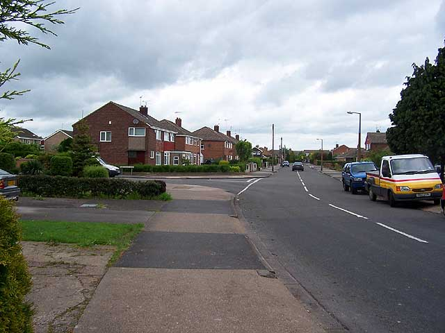 Ruskin Avenue/Ribblesdale Road junction