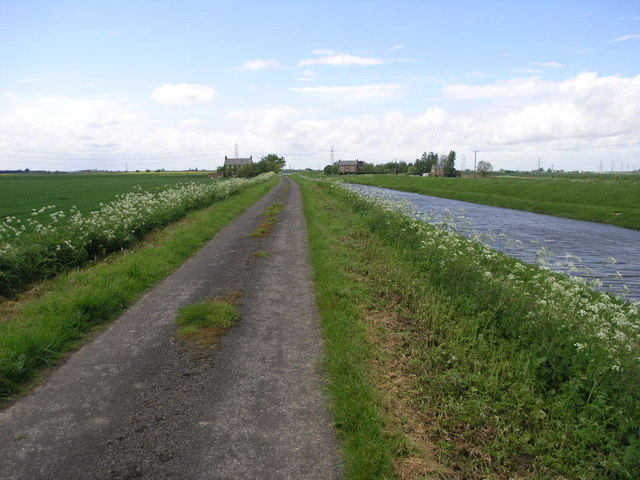 Farm and Lane and Drain