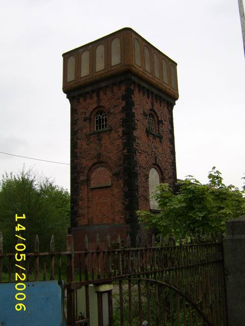 Disused water tower