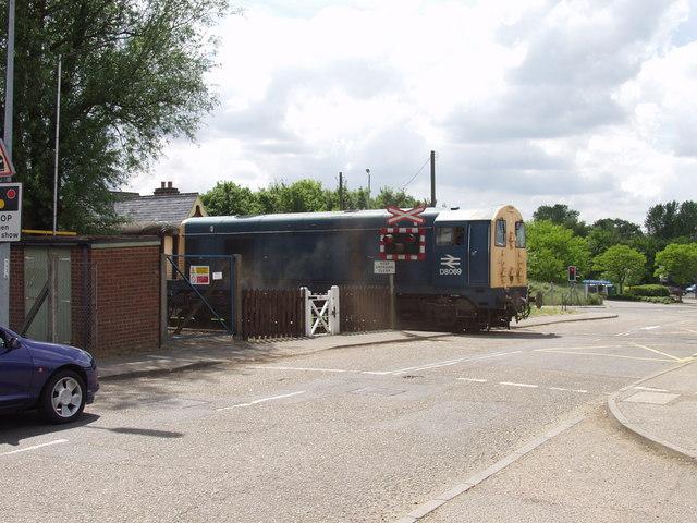 Mid Norfolk Railway at East Dereham