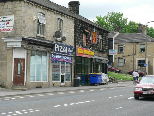 A choice of Pizzas, Commercial Road, Kirkstall