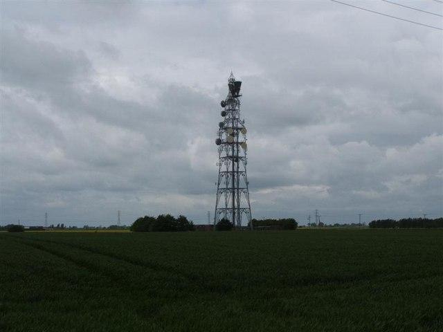 Radio mast Newton