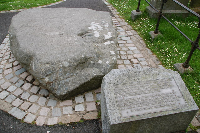 St Patrick's grave?