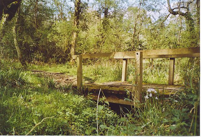Footbridge by Crimbourne.