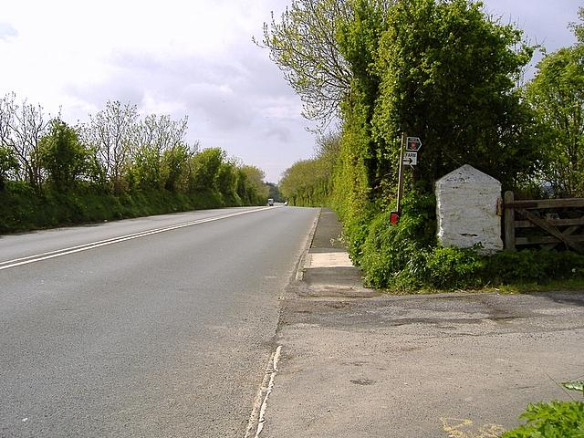 A 5 road between Douglas and Santon