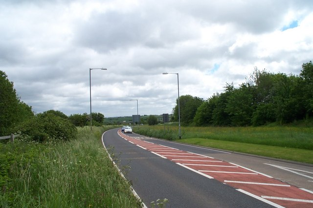 The A39 Nether Stowey bypass