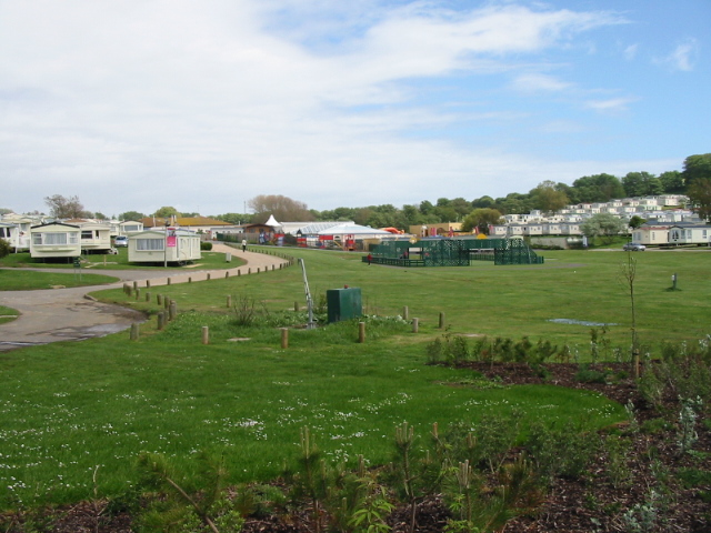 Littlesea Holiday Park on The Fleet near Weymouth