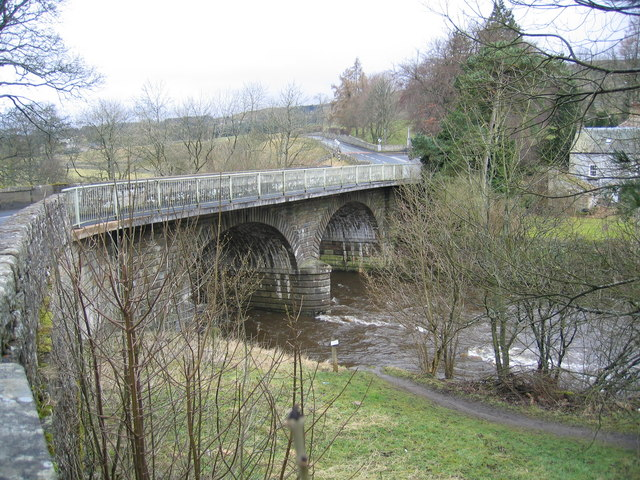 The Tyne Bridge at Alston
