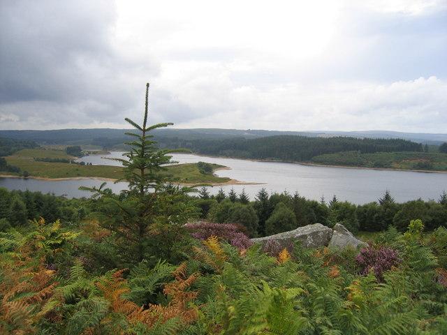 Kielder Water from Elf Kirk viewpoint