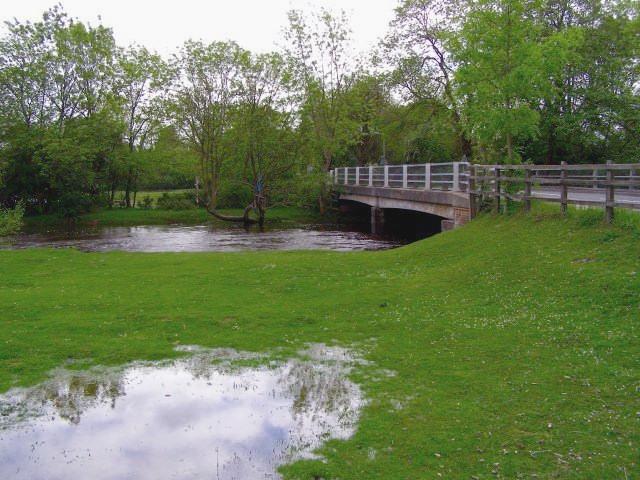 Brockenhurst Bridge over the Lymington River, New Forest