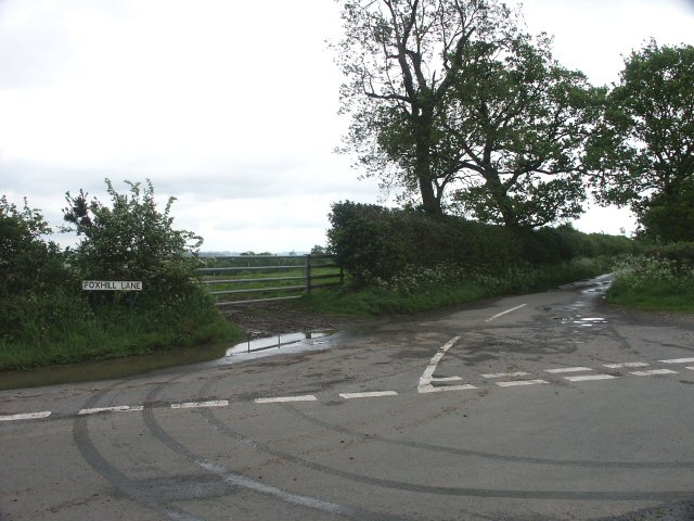 Foxhill Lane - north end