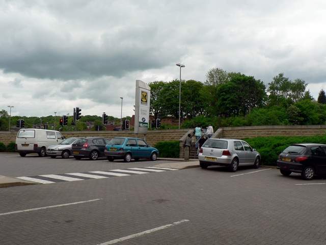 Car park by Commercial Road, Kirkstall, Leeds