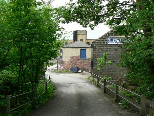 Bridge over the Goit to St Ann's Mills, Kirkstall, Leeds