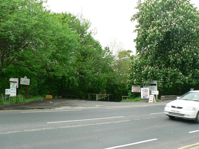 St Ann's Mills entrance, Commercial Road, Kirkstall, Leeds