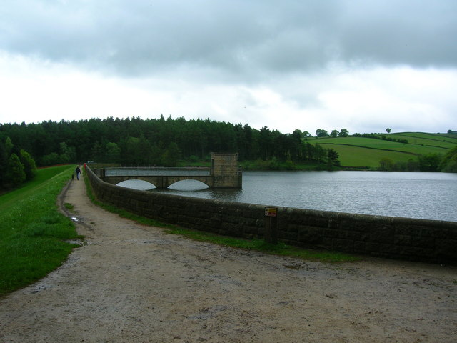 Linacre Upper Reservoir and dam