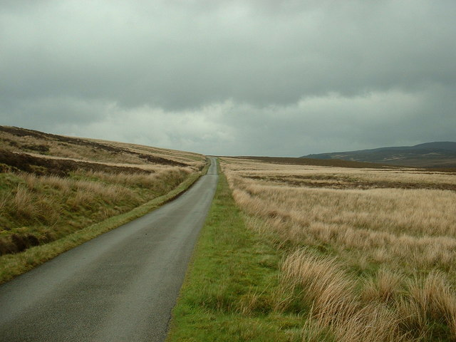 The road to Penmachno