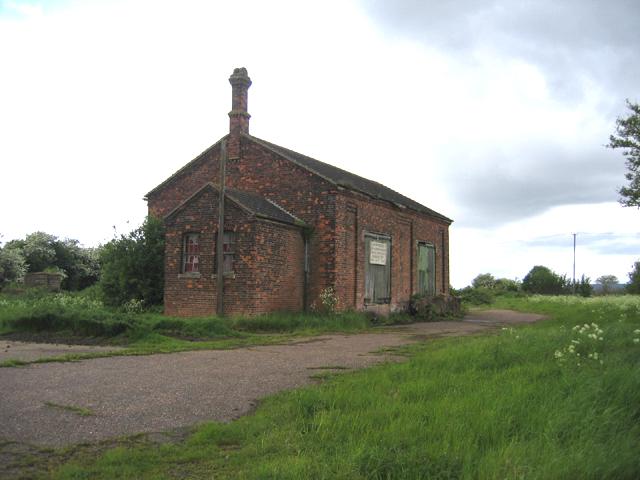 Former railway building, Cowbit, Lincs
