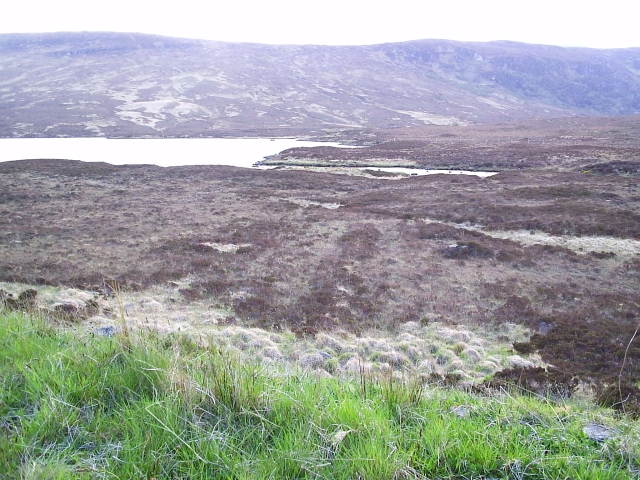 Looking towards Loch a Ghriama