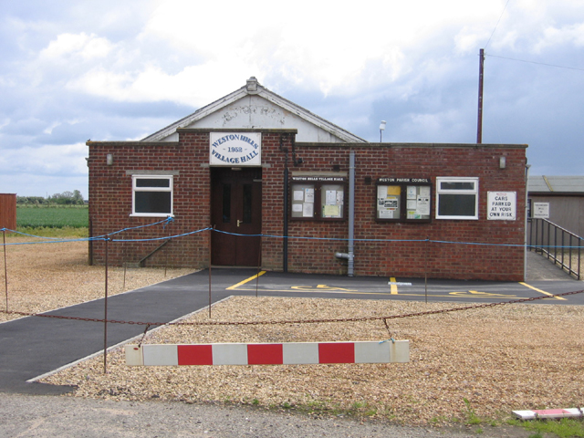 Village Hall, Weston Hills, Lincs