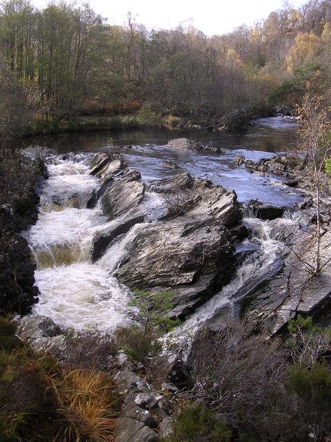 Waterfall in Strathfarrar