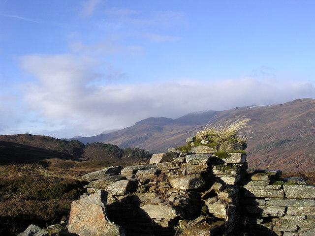 Lead mine above Strathfarrar