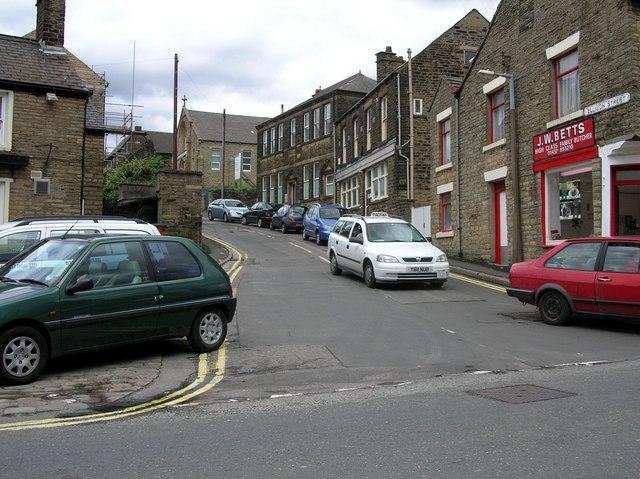 Ellison Street in Glossop.