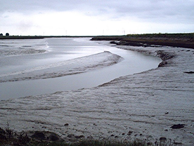 Paglesham Creek - Low tide